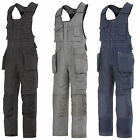 Snickers Onepiece Work Overalls with Kneepad & Holster Pockets(Canvas+)-0214