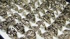 15-150pcs wholesale jewelry men's Retro vintage Tibet silver rings free shipping