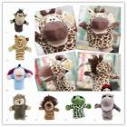 Baby Plush Velour Hand Soft Puppets Farm Animals Design Learning Aid Toys ZDA
