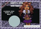 Monster High - Clawdeen Wolf - Scratch Off Tickets - Birthday Party. 12 Count.