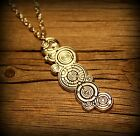 The Doctors Name in Gallifreyan Necklace Doctor Who pendant Tardis Gallifrey
