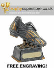 Antique Silver Football Trophy. Football boot trophy. FREE Engraving! SALE 4.75""