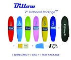 Billow 7' Soft Surfboard Package Deal, Softboard + Bag + Wax + Fins