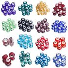 Wholesale European Lampwork Faceted Murano Glass Beads Charm DIY Bracelet Craft