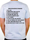 RULES FOR DATING MY DAUGHTER - Novelty / Humorous / Funny Themed Mens T-Shirt