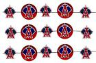 "#58 ANGELS BASEBALL 1"" PRE CUT BOTTLE CAP IMAGES SCRAPBOOKING CRAFT PROJECTS"