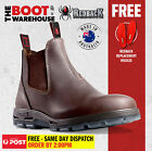 Redback UNPU Nevada 'Puma' Work Boots. Elastic Sided. Soft Toe. WATERPROOF!