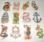 TEMPORARY TRANSFER COLOUR TATTOOS PICK & MIX BUY 3 GET 1 FREE