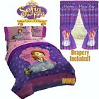 Disney SOFIA THE FIRST Girls PiNK Purple Twin/Full Size C...