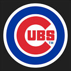 """5"""" 10"""" 15"""" or 20"""" Chicago CUBS Baseball FULL COLOR Car Window Decal Sticker"""