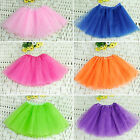 Baby Girl Kids Toddler 3 Layer Tutu Skirt Ballet Dancewear Party Costume E