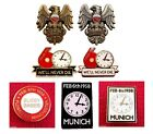 United Badge Selection Munich Remembrance 1958 Flowers of Manchester Gift