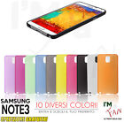 CUSTODIA COVER ULTRA SOTTILE 0.3mm Samsung Galaxy NOTE 3 SLIM TRASPARENTE OPACA