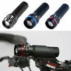 Twin Mountain Bike Bicycle cycling Head Lights front torch SET+5 led Rear light