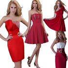4 Styles Prom Short Party Ball Gown Evening Cocktail Bridesmaid Womens Dresses
