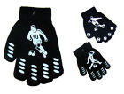 New Children's Magic Gloves With Palm Grip Football Design One Size BNWT