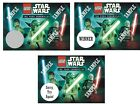 Lego City-Star Wars Yoda - Birthday Party Favors - Scratch Off Tickets! (x12 ct)
