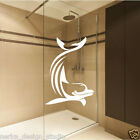 Stunning Dolphin Sticker / Wall Sticker / shower screen sticker / waterproof S59