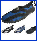 Внешний вид - Men's Water Shoes Aqua Socks Adjustable Slip On Beach Pool Yoga Exercise 7-13