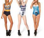 Brand New Fashion Sexy Women's Printing One-Piece Monokini Bikini Swimsuit Force