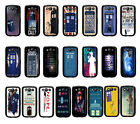 Doctor Who Black Back Cover Plastic Hard Case For Samsung Galaxy S3 i9300