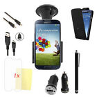 7 X ACCESSORY BUNDLE KIT FITS VARIOUS SAMSUNG GALAXY  CASE COVER CAR SCREEN