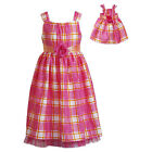 """Dollie & Me 2-16 12.5 14.5 16.5 and 18"""" Doll Matching outfit ft american girl"""