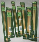 "Clover Straight Knitting Needles 9"", 13"", 14"" Bamboo"
