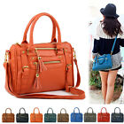 New Women Handbag Faux Leather Ladies Shoulder Tote Cross Body Bag Satchel Purse