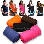 SAFETY & COMFOR BABY SLING STRETCHY WRAP CARRIER -BIRTH-3 yrs -BREASTFEEDING