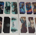 Final Fantasy Japanese Anime Bookmarks - 8 Designs