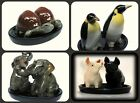 Animal salt and pepper animals pots shakers sets ceramic cruet salt and pepper