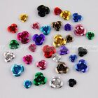 6mm,8mm,12mm Flower Rose Aluminum Spacer Bead 11 Colors-1 for Craft Jewellery