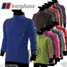 Berghaus Women's Half Zip Top Pulover Plain Fleece 13 Colours All Sizes 33720