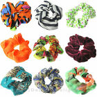 HAIR SCRUNCHIES SCRUNCHIE ELASTIC BOBBLE GIRLS LADIES GYMNASTICS SPORTS SCRUNCHY
