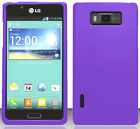 PURPLE Snap-On Case Hard Cover for LG Optimus Showtime L86C L86G