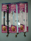 Ancol Deluxe Jewel Collar and lead set for puppy and small dog pink, blue, black