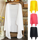 Womens Casual Cardigan Sun Protection Sunscreen Blouse Coat Sunblock Tops