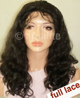 """Chinese Body Wave Full Lace Wig - Mid Length (14"""", 16"""", 18"""") Virgin Remy Human H"""