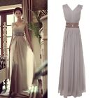 Goddess Style Evening Formal Bridesmaid Dress Ball Gowns Long Prom Dresses 2~16