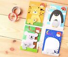 Q-Teen: Oyako Animal Family Post-it Index Flag Sticky Notes Sticker Pad Kid Gift