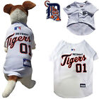 MLB Pet Fan Gear DETROIT TIGERS Dog Jersey Dog Shirt for Dogs BIG SIZE XS-2XL