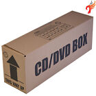 Cardboard Boxes for CDs & DVDs, ideal for storage/removal/postal, holds up to 40
