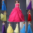 HOT SALE~ Long Bridesmaid Evening Banquet Party Prom Long Formal Dresses Gown