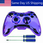 Xbox360 Wireless Controller Full Housing Shell Case Replacement Buttons Screws