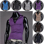 SO COOL Sexy Mens Relaxed Home Nightwear Hooded Sleeveless Vest Tank Top Singlet