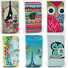 Ancient Tower Brush Teeth Owl Colorful Hot Air Balloon New For Apple iPhone 4 4S