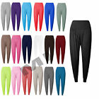 Women Ladies Ali Baba Hareem Baggy Pants Trousers Harem Stretch Leggings 8-26
