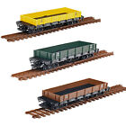 New G Scale Garden Flat Bed Cargo Wagon Freight Carriage 45MM Gauge Railway