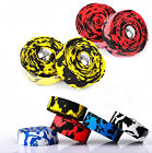 2Pcs Bike Bicycle Cycling Handle Belt Handlebar Tape Wrap 2 Bar Plug 5 Color